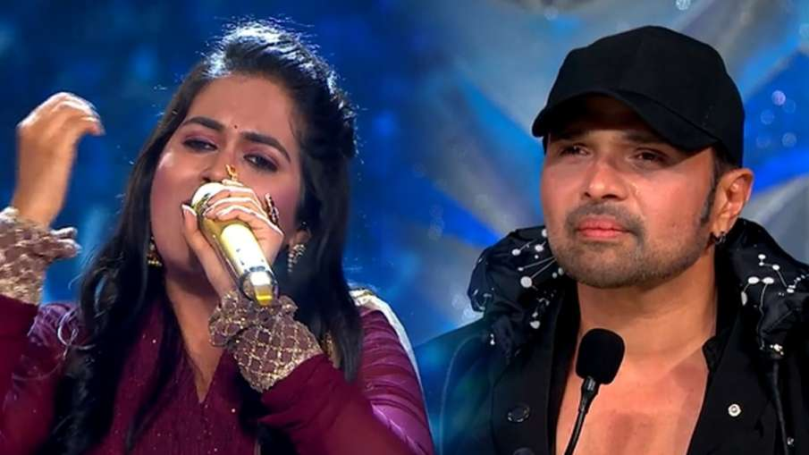 indian idol himesh reshammiya cry sayli kamble performance watch video - India TV Hindi