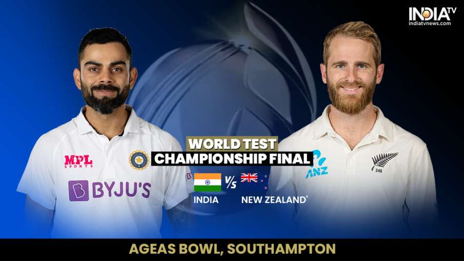 India vs New Zealand 2021 WTC FInal test IND vs NZ live match score updates in hindi- India TV Hindi