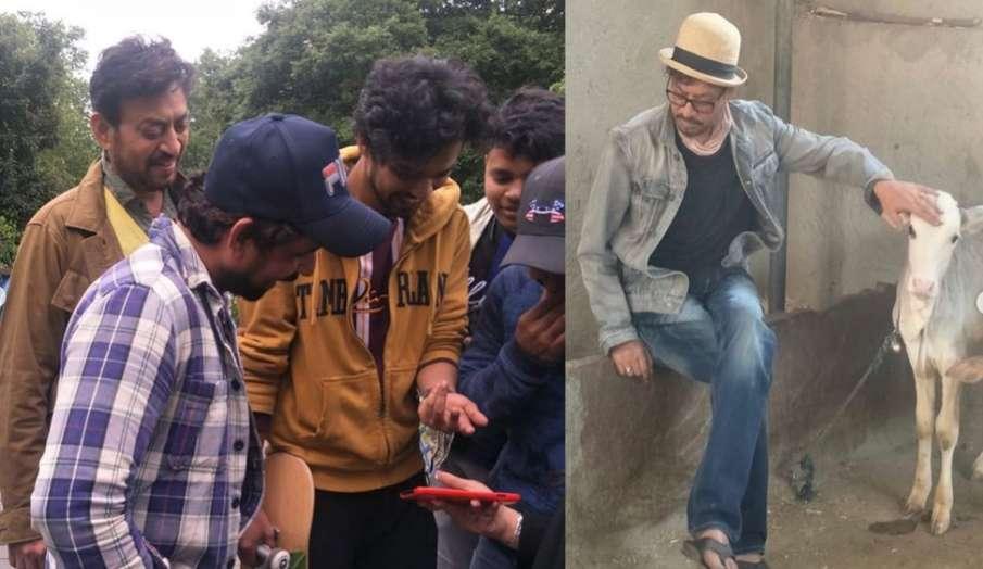 बाबिल ने पिता इरफान खान को याद कर शेयर की तस्वीरें, लिखा- बड़ी मेहनत कर रहा हूं काश..- India TV Hindi