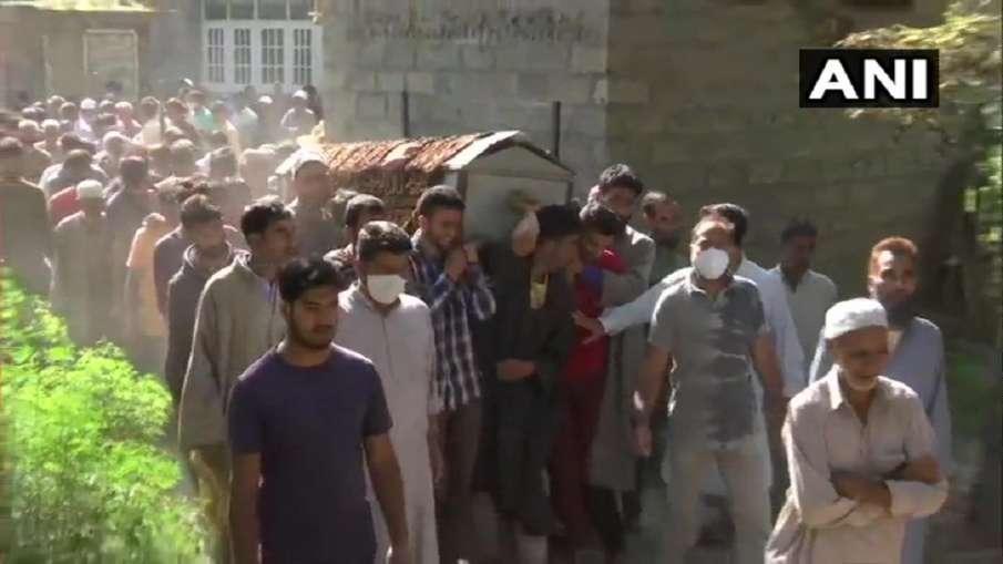 SPO killed in kashmir political parties condemns attack कश्मीर: आतंकवादियों ने पुलवामा जिले में SPO,- India TV Hindi