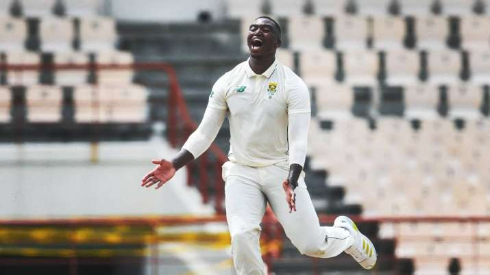 WI vs SA 1st Test   South Africa pacers skittle out West Indies for 97 on Day 1- India TV Hindi