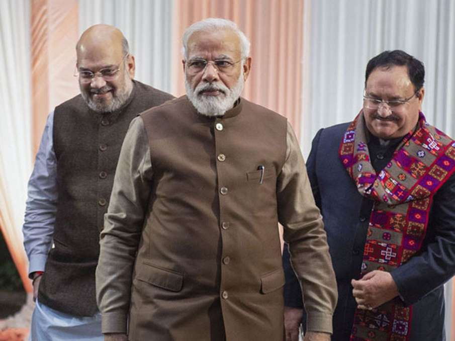 PM Modi meets Shah, Nadda amid Cabinet reshuffle buzz- India TV Hindi