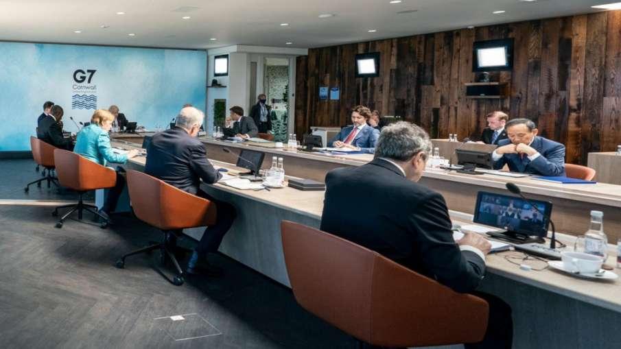 जी-7 सम्मेलन में घिरा चीन, नेताओं ने उठाया वुहान से कोरोना वायरस लीक होने का मुद्दा- India TV Hindi
