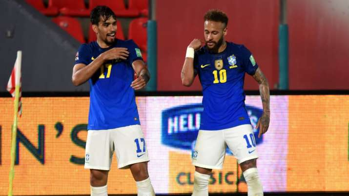 Neymar, Paqueta extend Brazil's winning run in WC qualifiers- India TV Hindi