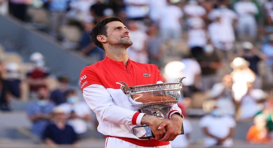 French Open 2021, Novak Djokovic, Stefanos Tsitsipas, 19th Grand Slam title- India TV Hindi