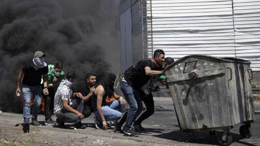Palestinians Injured, Palestinian protesters, Palestinian protesters Israel- India TV Hindi