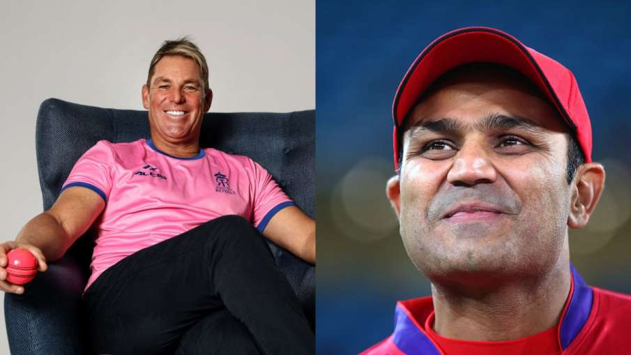 Virender Sehwag reacts After A Twitter Fan Ask Shane Warne To understands 'how spin works'- India TV Hindi