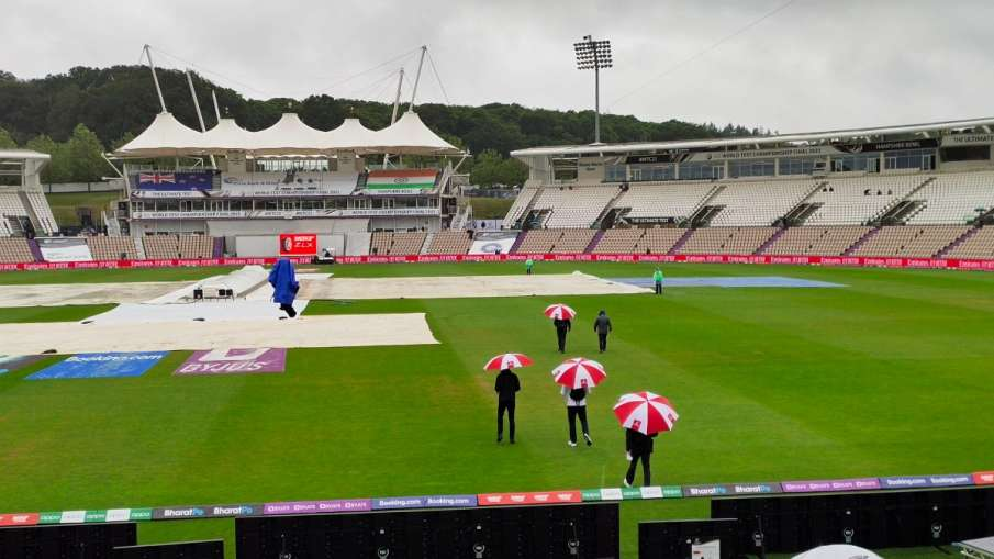 India vs New Zealand WTC Final Due To Rain no play in the first session on Day 1- India TV Hindi