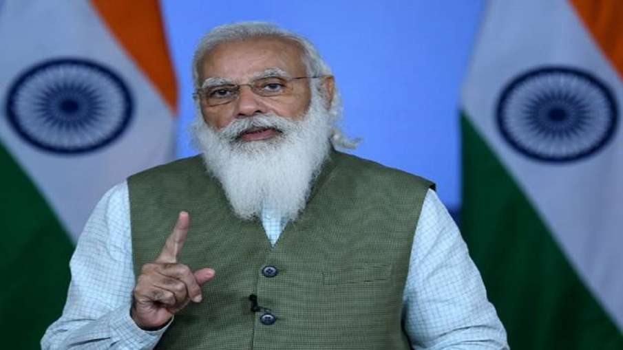 PM Modi addresses high-level virtual UN meet on desertification, land degradation, drought- India TV Hindi