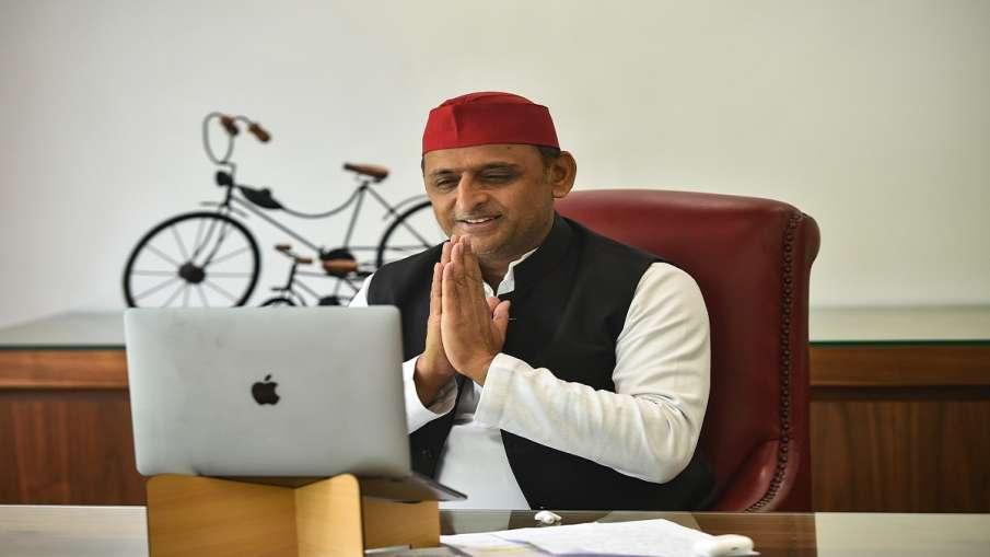 Akhilesh yadav is still busy in work from home says UP BJP Chief  'अखिलेश यादव अभी 'वर्क फ्रॉम होम' - India TV Hindi