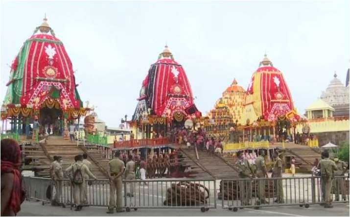 Rath Yatra to be held in Puri without devotees for second year in row: Official- India TV Hindi