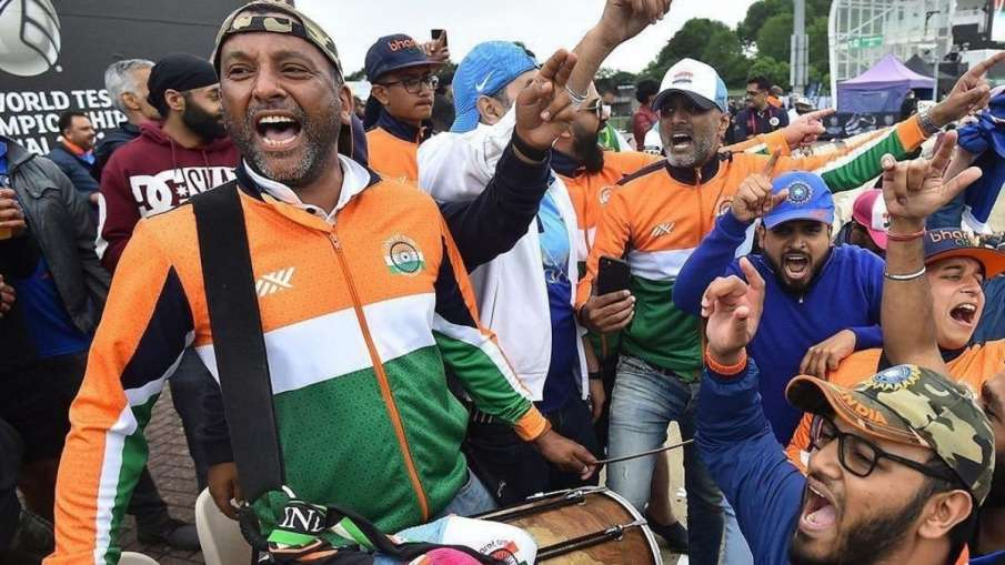 IND vs NZ WTC Final: bharat army sang song to cheer...- India TV Hindi
