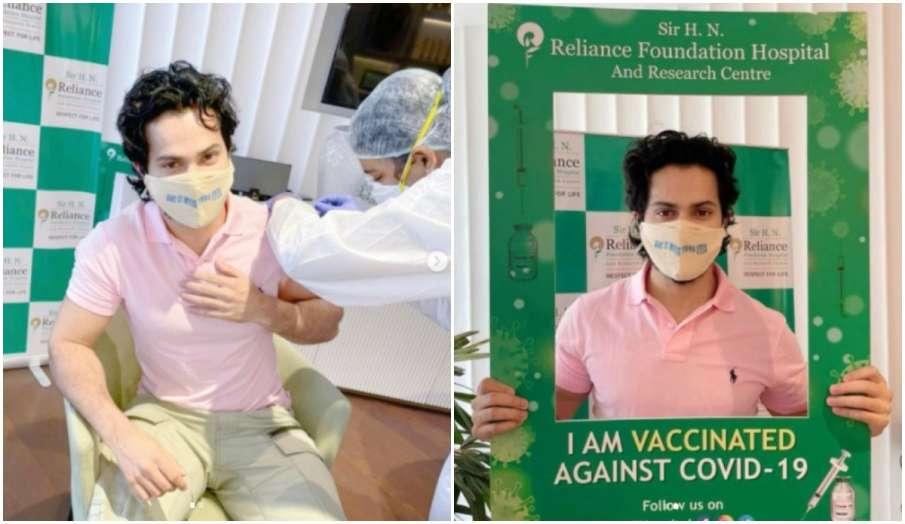 Varun Dhawan gets coronavirus vaccine first dose says Do not be a prick go get the prick- India TV Hindi