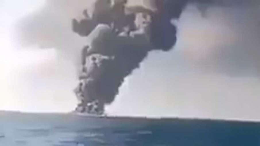 Iran Largest Navy Ship Kharg, Iran Navy Ship Kharg, Iran Kharg, Iran Ship Kharg- India TV Hindi