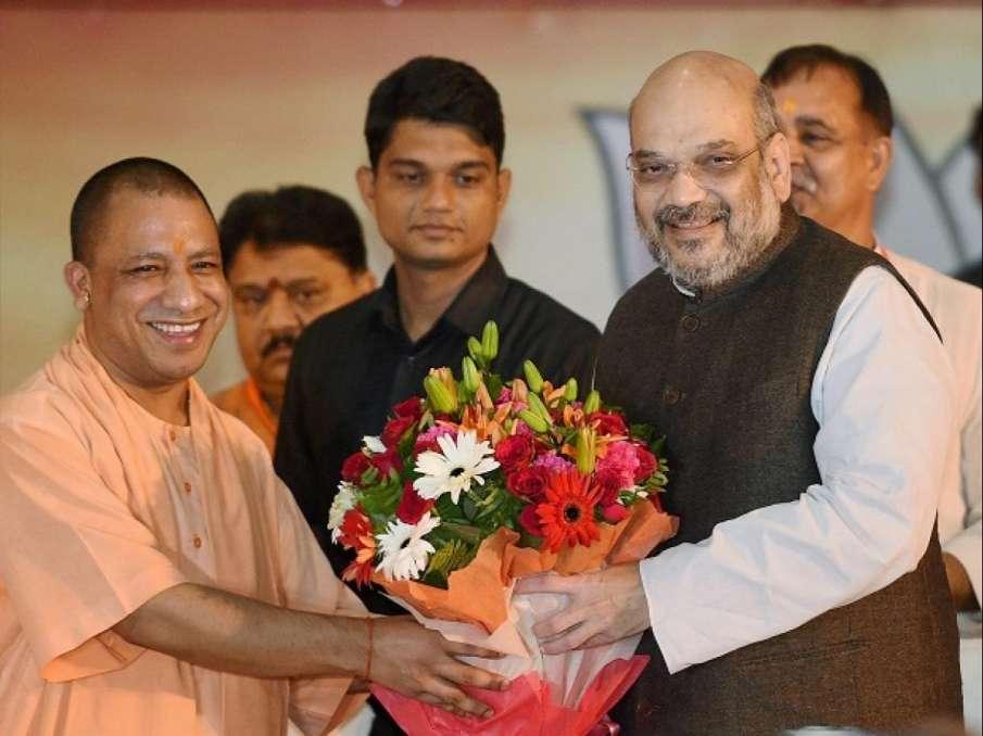 UP CM Adityanath calls on Amit Shah; likely to meet PM, Nadda- India TV Hindi