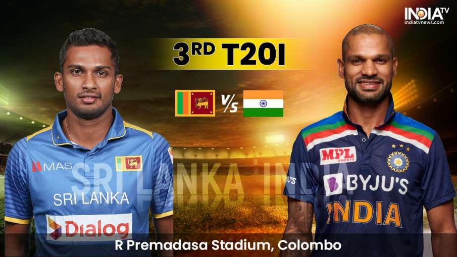 Highlights, IND vs SL 3rd T20I : धनंजय डी सिल्वा (23*) की पारी से श्रीलंका 7 विकेट से जीता, चाहर को - India TV Hindi