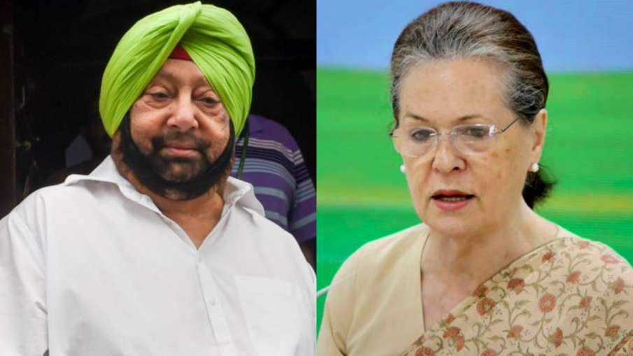 Amarinder writes to Sonia Gandhi, says-high command is forcibly interfering in Punjab politics- India TV Hindi