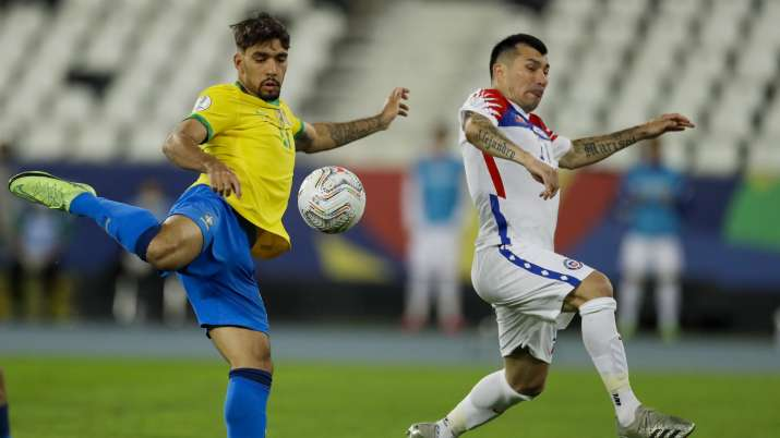Copa America: Brazil last four after beating Chile despite red card in second half- India TV Hindi