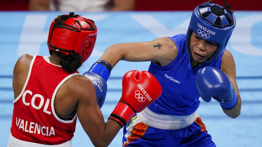 Mary Kom's Tokyo Olympics 2020 journey comes to an end, losing 2-3 to Colombia's Ingrit Valencia in - India TV Hindi