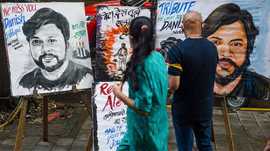 Taliban Killed Danish Siddiqui, Taliban Executed Danish Siddiqui, Danish Siddiqui Taliban- India TV Hindi