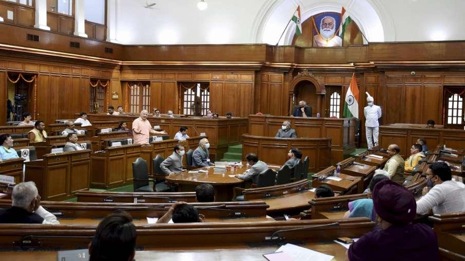 दिल्ली विधानसभा में भारी हंगामा, BJP विधायकों को मार्शल आउट किया गया (प्रतीकात्मक तस्वीर)- India TV Hindi