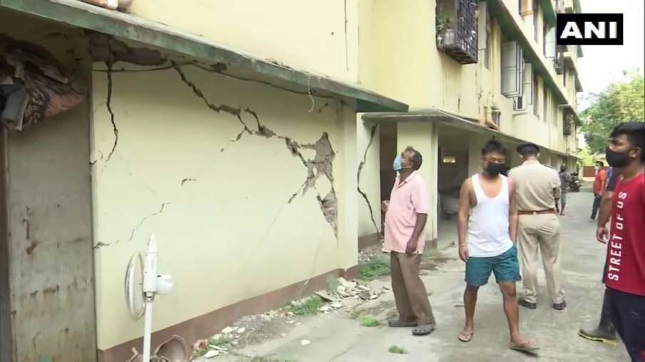 Earthquake in Bikaner Rajasthan Meghalaya West Garo Hills National Centre for Seismology Richter sca- India TV Hindi