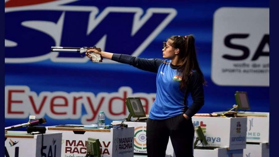 Tokyo Olympics : मनु 25 मीटर...- India TV Hindi