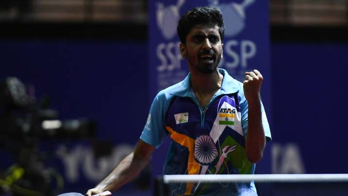 Success against Japan in Asian Games boosted Sathiyan's spirits about Olympics- India TV Hindi