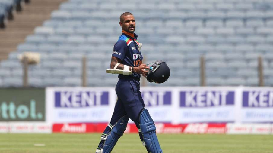 Shikhar Dhawan becomes first Indian captain to be dismissed for a golden duck in T20I- India TV Hindi