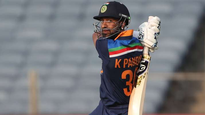 Krunal Pandya out of the T20 series against Sri Lanka, will not be able to return home with the Indi- India TV Hindi