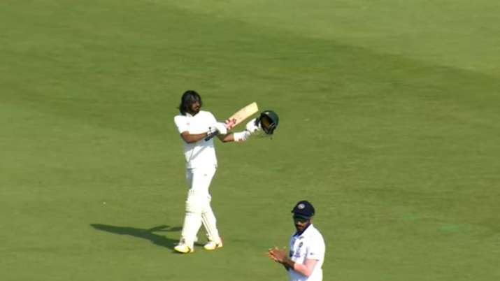 Haseeb Hameed celebrates England return with a fighting...- India TV Hindi