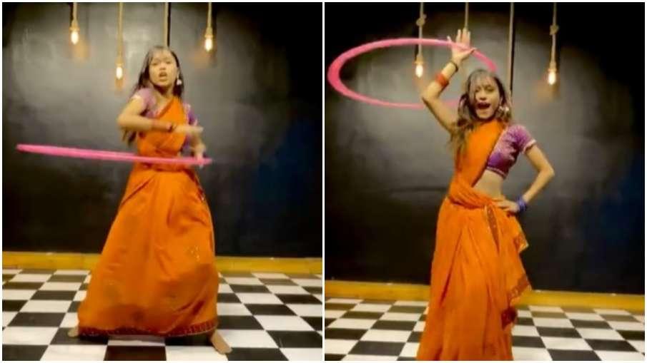 hulahoop dance- India TV Hindi