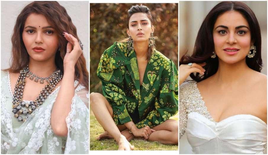 rubina dilaik to erica fernandes tv top stylish actress latest news - India TV Hindi