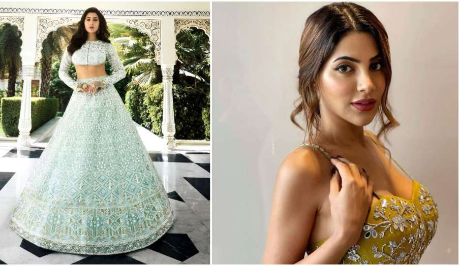 Celebs Daily Insta Update: सारा खान का ट्रेडिशनल लुक वायरल, निक्की तंबोली इस अंदाज में आईं नज़र - India TV Hindi