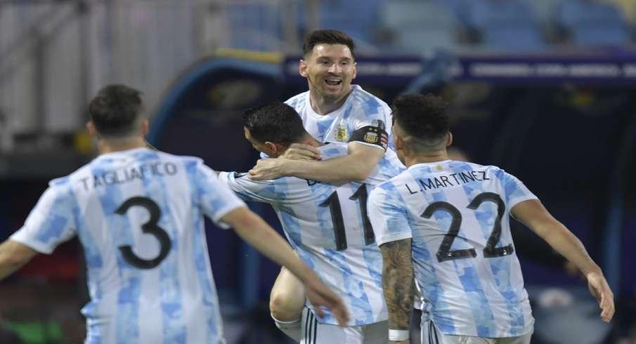 Argentina, semi-finals, Copa America, Lionel Messi, Sports, Football - India TV Hindi