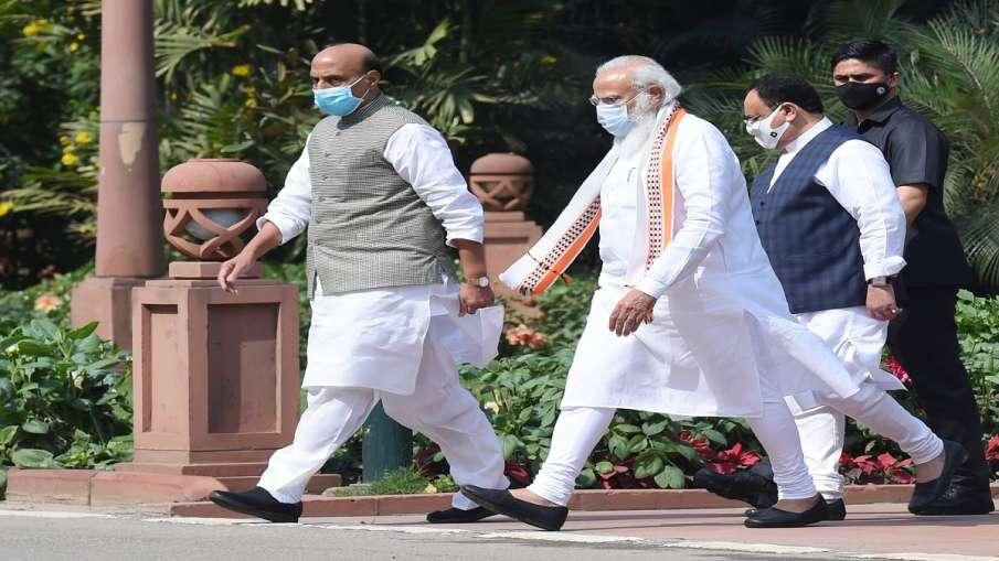 pradhanmantri gareeb kalyan ann yojana BJP to campaign about this scheme मोदी सरकार की इस योजना का ज- India TV Hindi
