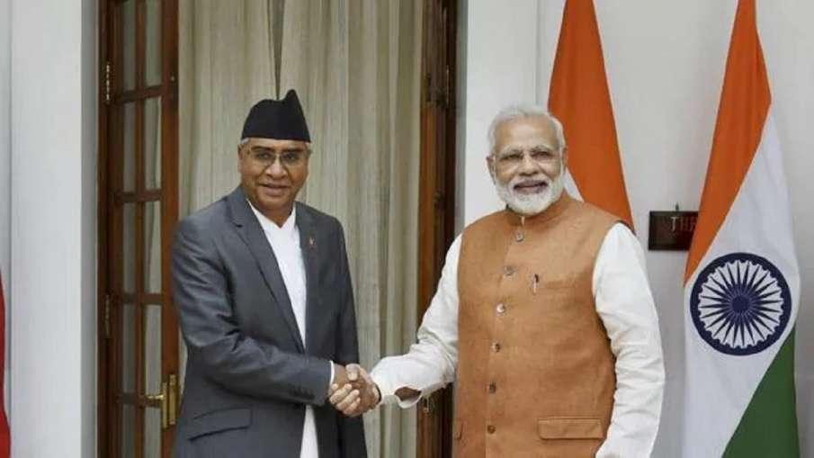PM Modi, Nepal's Deuba agree to strengthen bilateral ties- India TV Hindi