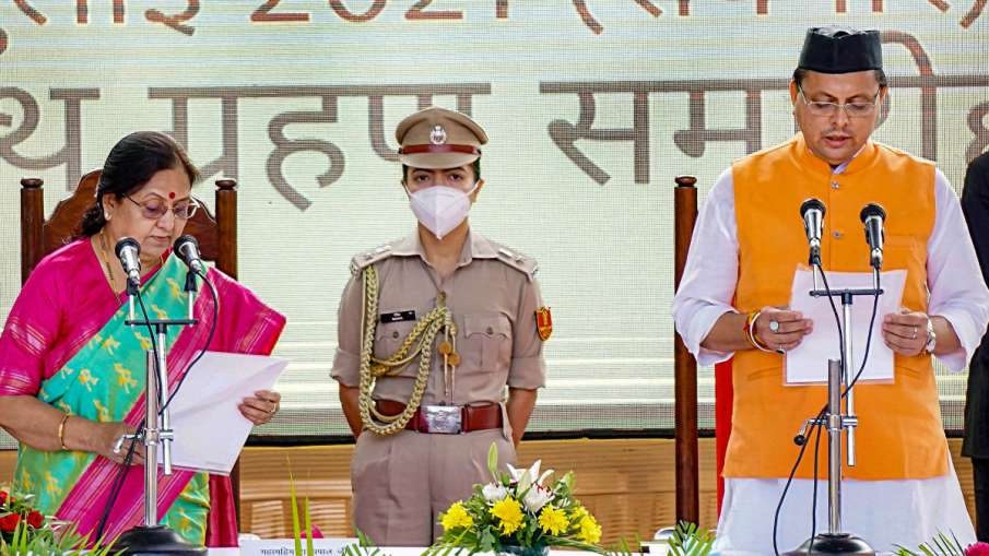 पुष्कर सिंह धामी बने...- India TV Hindi