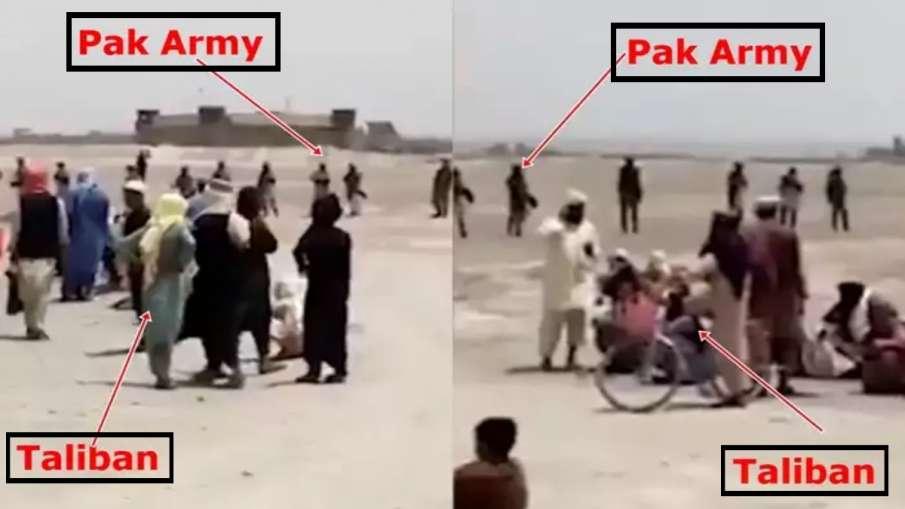 अफगानिस्तान में घुसी पाकिस्तानी सेना! Video में तालिबानी लड़ाकों के साथ दिखाई दी- India TV Hindi