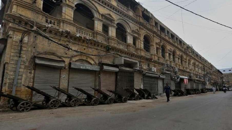 पाकिस्तान में तेजी से बढ़ते कोरोना मामलों के बीच कराची में लॉकडाउन लगाया गया- India TV Hindi