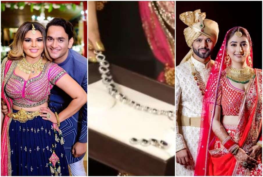 Rakhi Sawant gifts diamond set to Disha Parmar - India TV Hindi