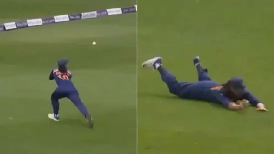 Smriti Mandhana's 'unbelievable' catch Video Went Viral, did you see? - India TV Hindi
