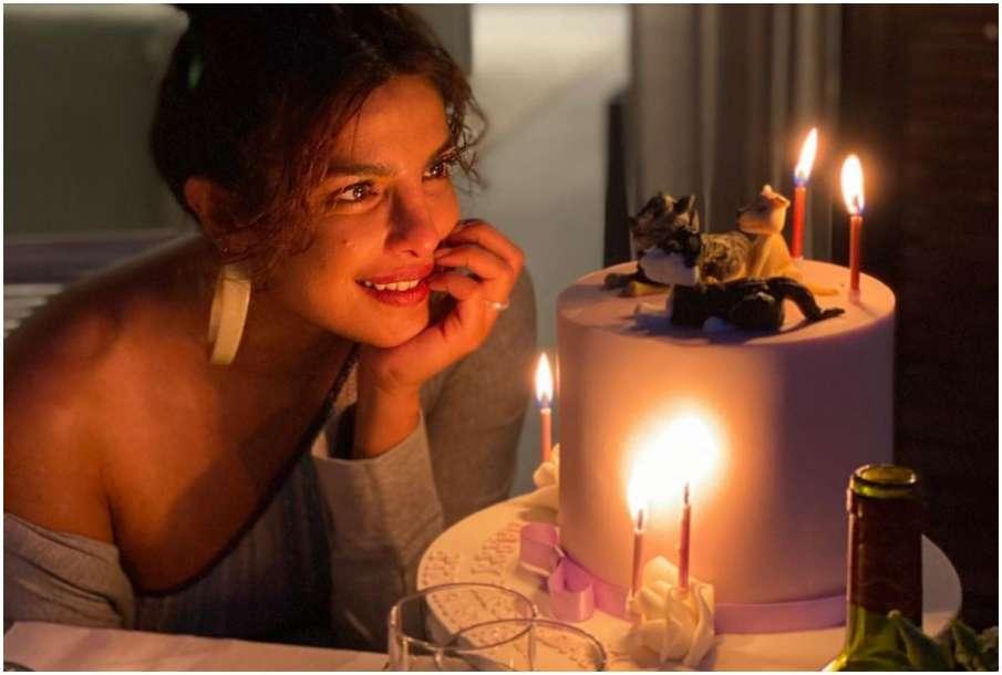 Priyanka Chopra birthday celebration pictures- India TV Hindi