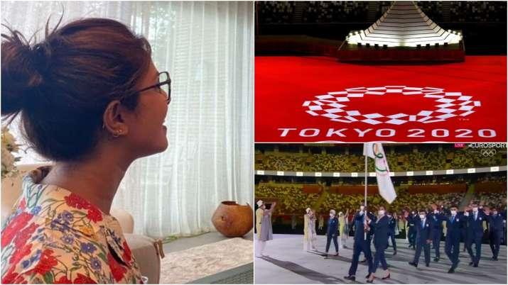 Tokyo Olympics 2020 Opening Ceremony- India TV Hindi