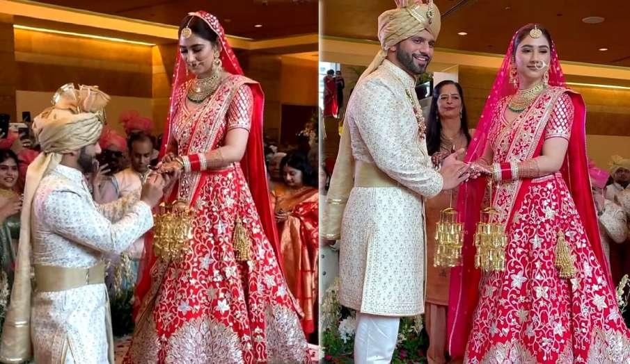 rahul vaidya disha parmar wedding first pic latest news- India TV Hindi