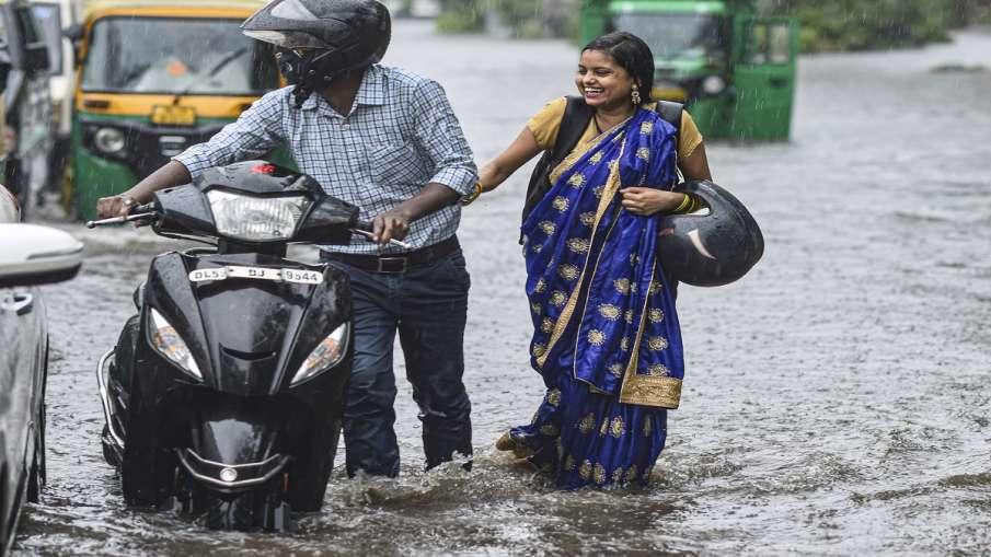 rain in delhi ncr noida ghaziabad faridabad gurugram alert for himachal pradesh दिल्ली NCR में बारिश- India TV Hindi
