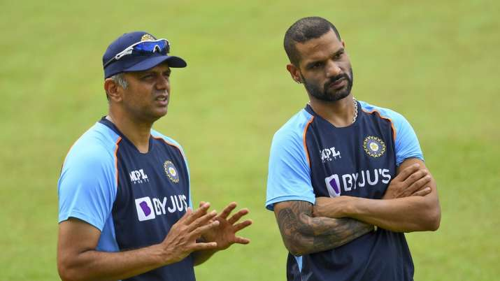 IND vs SL: BCCI shared the video of Team India's first training session, Rahul Dravid said this- India TV Hindi