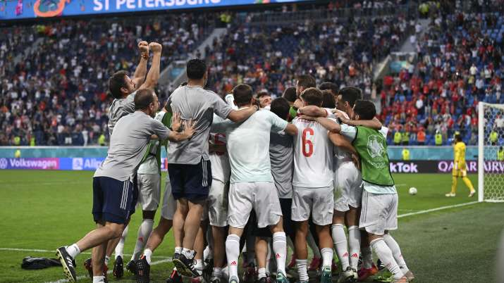 Euro 2020: Spain in semi-finals after beating Switzerland in penalty shootout- India TV Hindi