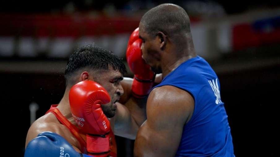 Tokyo Olympics 2020: satish kumar beats ricardo brown,...- India TV Hindi