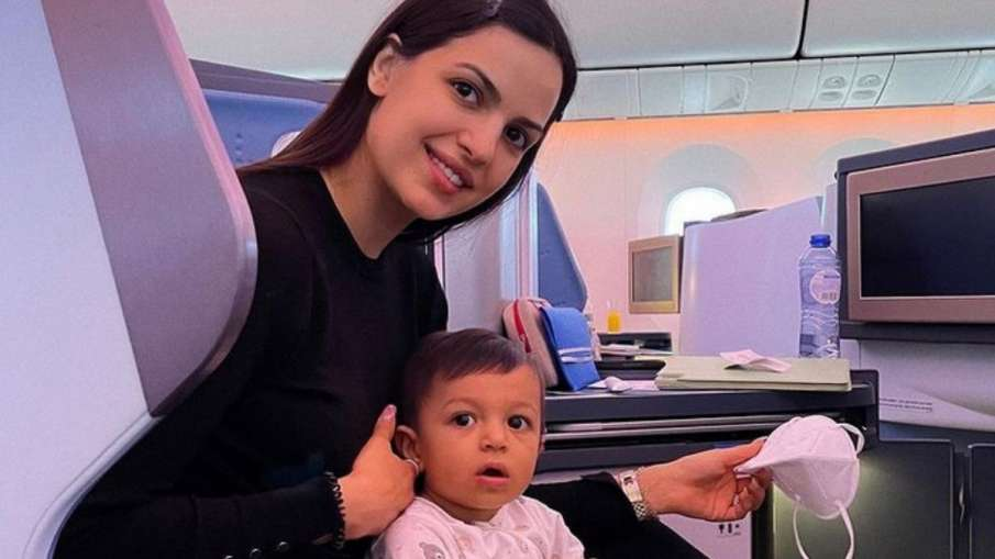 Natasa Stankovic Shares Adorable Picture With Her Son- India TV Hindi